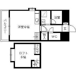 日吉壱番館[8階]の間取り