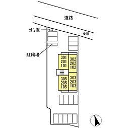 (仮)D-room 住吉 II[2階]の外観