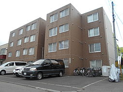 北海道札幌市豊平区月寒中央通4丁目の賃貸マンションの外観
