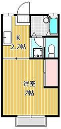 リトルキャビン[2階]の間取り