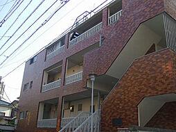 ダイヤパレス初台 幡ヶ谷6分 閑静な住宅街 広めのワンルーム[3階]の外観