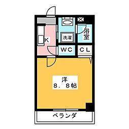 M3.Elmundo[3階]の間取り