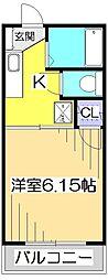レピュート恋ヶ窪[2階]の間取り