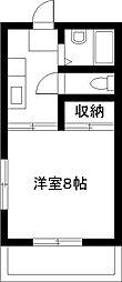 宮崎県宮崎市大字恒久の賃貸アパートの間取り