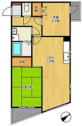 キャステールV 3階[3階]の間取り