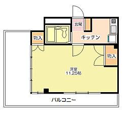 メゾンマロニエ[3階]の間取り