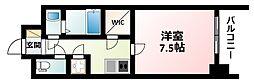 Osaka Metro御堂筋線 江坂駅 徒歩6分の賃貸マンション 10階1Kの間取り