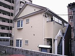 千葉県松戸市竹ヶ花の賃貸アパートの外観
