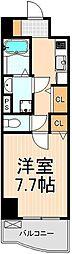 東京都足立区綾瀬7丁目の賃貸マンションの間取り