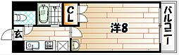 S・K City八幡[7階]の間取り