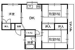 田島ハイツ _[2階]の間取り