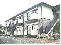 京都府相楽郡精華町下狛の賃貸アパートの外観