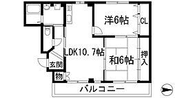 JUMA-1[2階]の間取り