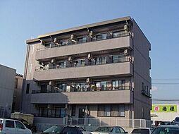 長野県長野市中越1丁目の賃貸マンションの外観