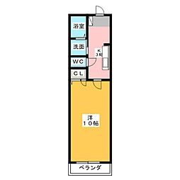 RESIDENCE本郷[1階]の間取り