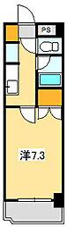 カストール鹿野[1階]の間取り