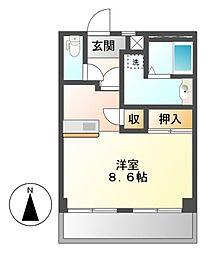 藤田ビル[2階]の間取り
