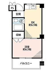 第2清和マンション[3階]の間取り