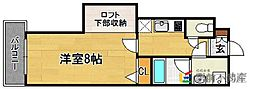 ラフィネス博多リバーステージ[8階]の間取り