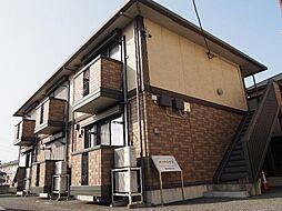 栃木県宇都宮市峰1丁目の賃貸アパートの外観