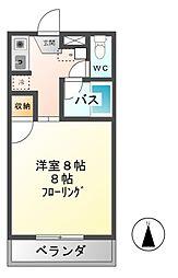 エスポワールM2[1階]の間取り