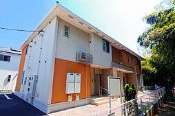 東京都東久留米市小山2丁目の賃貸アパートの外観