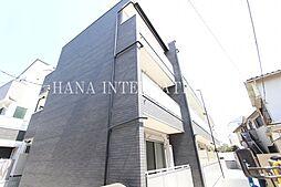 神奈川県川崎市多摩区菅3丁目の賃貸マンションの外観