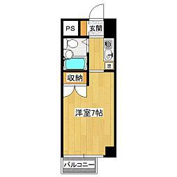 山科SQUARE[3階]の間取り