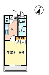 グランチェスタ[2階]の間取り