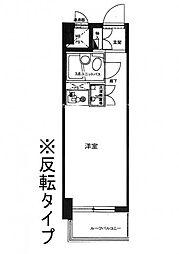 ライオンズマンション大山幸町[203号室]の間取り