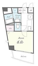 小室マンション[2階]の間取り