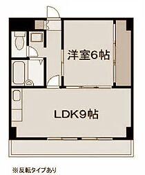 ドルチェ・ヨコハマ[506号室]の間取り