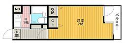 東白マンション[205号室]の間取り