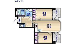 マンシオン・タイラ[4階]の間取り