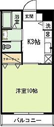 コスモ昭栄[402号室]の間取り