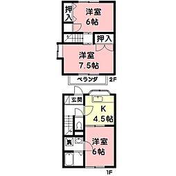 メゾン松栄[2階]の間取り