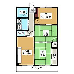 Ark Villa[1階]の間取り