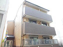 京都府京都市左京区修学院大林町の賃貸マンションの外観