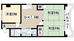 第2豊嶋ビル[307号室]の間取り