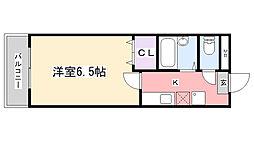YKマンション[306号室]の間取り