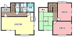 [テラスハウス] 静岡県浜松市中区和合北4丁目 の賃貸【/】の間取り