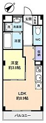 仮)緑が丘西2丁目マンション[1階]の間取り