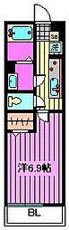 リブリ・ロッソ[2階]の間取り