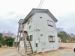 千葉県いすみ市岬町江場土の賃貸アパートの外観