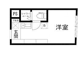 the eight[2階]の間取り