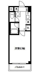シリウス横濱[203号室]の間取り