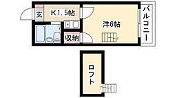 中村日赤駅 3.6万円