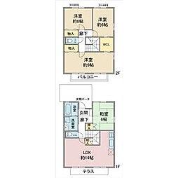 [一戸建] 愛知県名古屋市名東区高針台2丁目 の賃貸【/】の間取り
