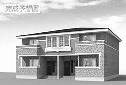 和歌山県御坊市湯川町小松原の賃貸アパートの外観