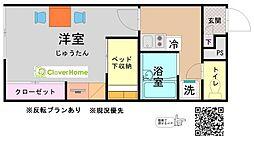 東京都町田市根岸1丁目の賃貸アパートの間取り